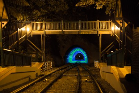 Tunnel vision in Wellington from outside