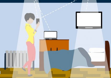 "Li-Fi for ""smart"" homes: using light as the transmission medium for data, devices can communicate with one another far more easily."