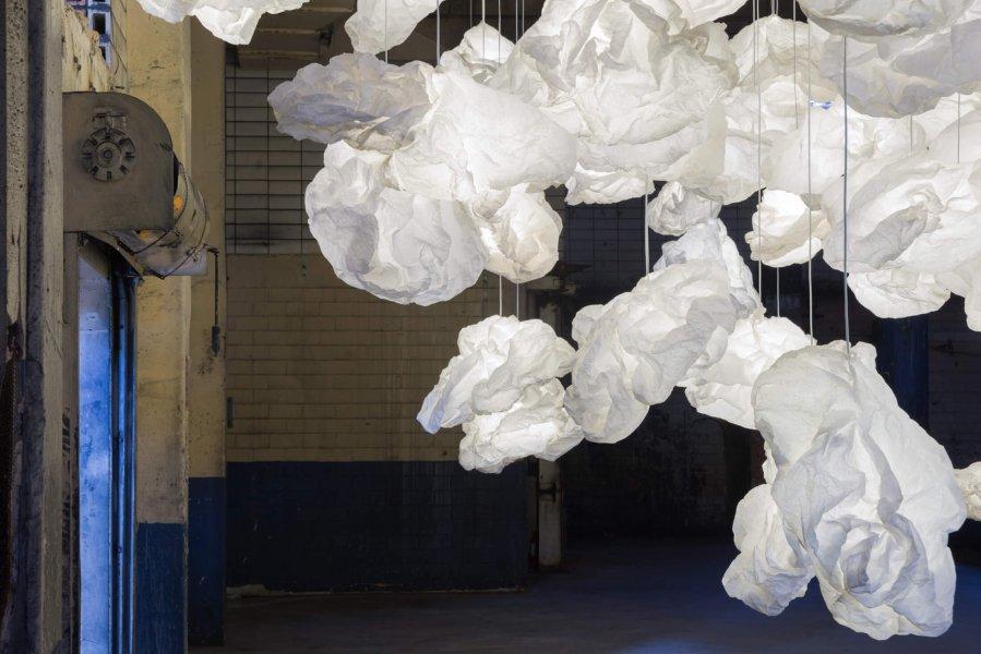 """A """"Paper Cloud""""in San Antonio."""
