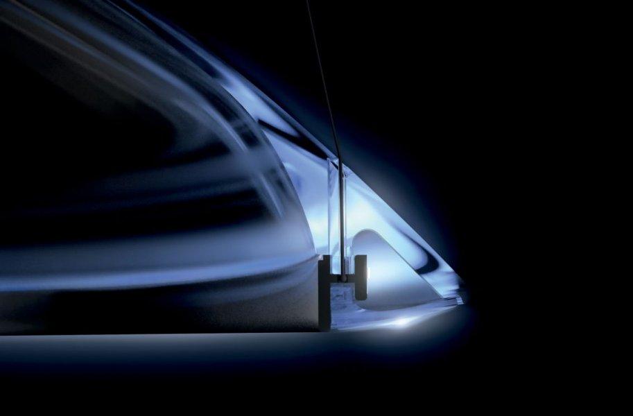 Dieses Band fungiert als Träger für die 288 LEDs, deren Licht so gestreut wird, dass der ganze Korpus erglimmt.