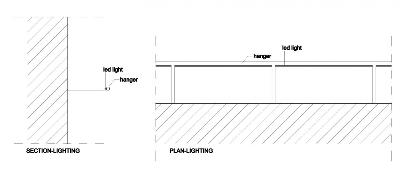 Sectional drawing.
